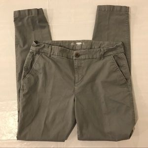 Old Navy Women's Chino Size 12 Skinny